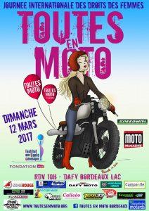 Toutes en moto, le 12 mars 2017 @ Dafy Moto Bordeaux Lac | Bordeaux | France