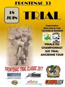 Finale du championnat du Sud Trial Ancienne Tour @ Frontenac