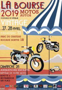 Bourse motos par PVKCR, les 27-28 avril 2019 à Cadaujac @ pars du chateau à Cadaujac