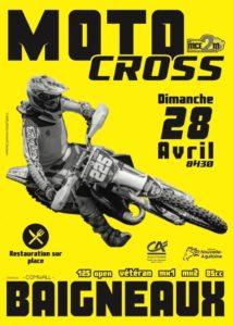 Motocross Baigneaux @ Baigneaux
