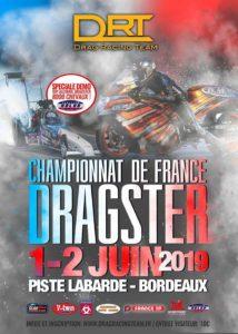 Championnat de France de Dragster, 1-2 Juin 2019 @ Piste d'accélération de Labarde
